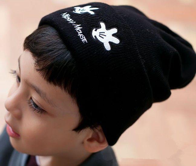 Moeble Lovely cartoon style Boys girls beanie hat Children knit cap Kids Wear beanie for autumn Cute Baby Hats