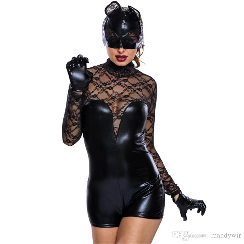2018 sexy uniforms bunny girls cosplay costumes masquerade female halloween carnival oktoberfest new year festival halloween costumes black from mandywir