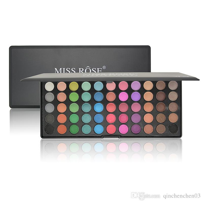 Women Pro Cosmetic Makeup 55 Full Colors Eyeshadow Palette Matte eye Shadow Waterproof Make Up Quality Assurance