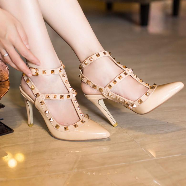 2015 In Fashion Wedding Shoes WomenS 11cm High Heel Belt With