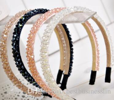 Dames De Luxe Brillance Diamant Couronne Bandeaux Fille De Mariage Bandes De Cheveux Enfants Accessoires De Cheveux De Noël Boutique Fête Fournitures Cadeaux