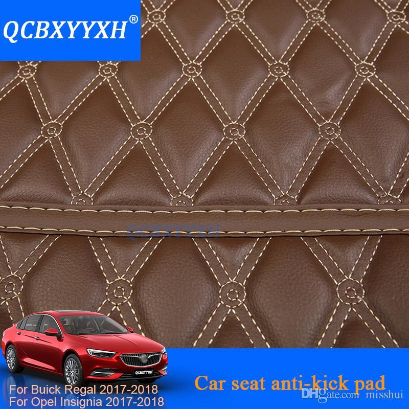 3 stücke Autositz Zurück Anti-kind-Kick Pad Cover Rücksitz Kinder Kick Schützen Schlamm Schmutz Matte Für Buick Regal Opel Insignia 2017 2018