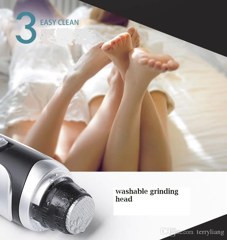 Electric Foot Callus Remover Feet Care Tool Dead Skin Exfoliating Removal Pedicure Kit Roller Grinding Head Pedicure heel dead skin cut