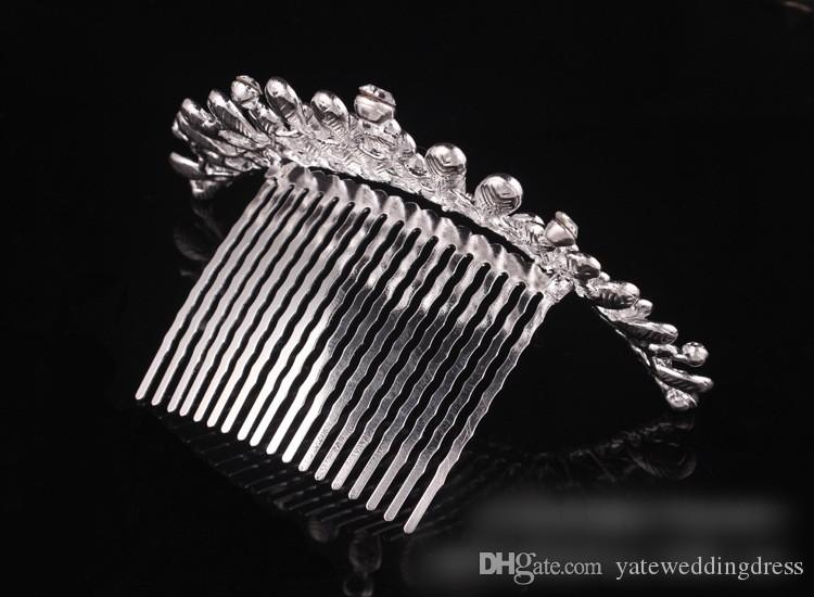 Cheap Crystal Bridal Tiara 4 Layers In Stock Bridal Hair Pin Accessories Formal Event Performance Head Wear Wedding Hair Accessory