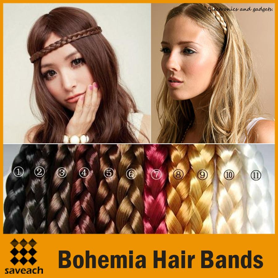 How to hair wear band