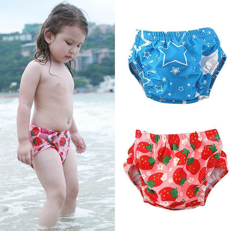 2019 Hot New Baby Swim Nappy Diaper Newborn Swimwear Girl Boy