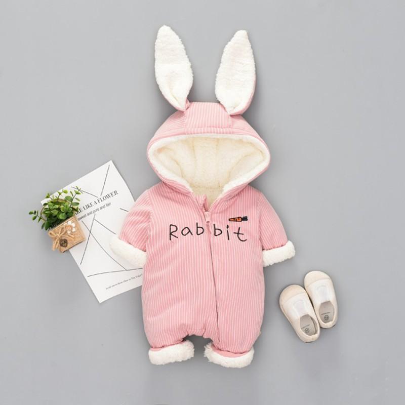 f509b85b6 2019 60 90cm Newborn Baby Clothes Winter Romper Winter Romper For ...