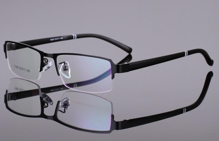 2015 New Fashion Metal Men Women Eyeglasses Frames Acetate Frame ...