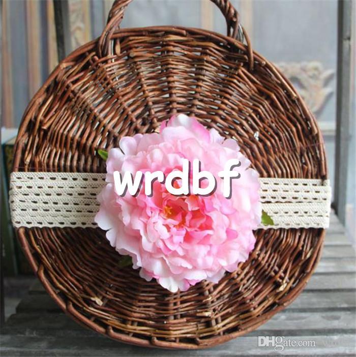 HOT Silk Single Peony Fleur Dia. 16cm / 6.3