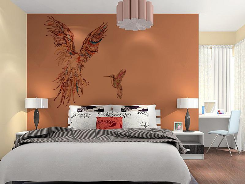 New Arrival Animal Wall Art Mural Decor Colorful Horse Beetle Parrot Elephants Decal Sticker Specialized Extra Large Animals Home Decoration