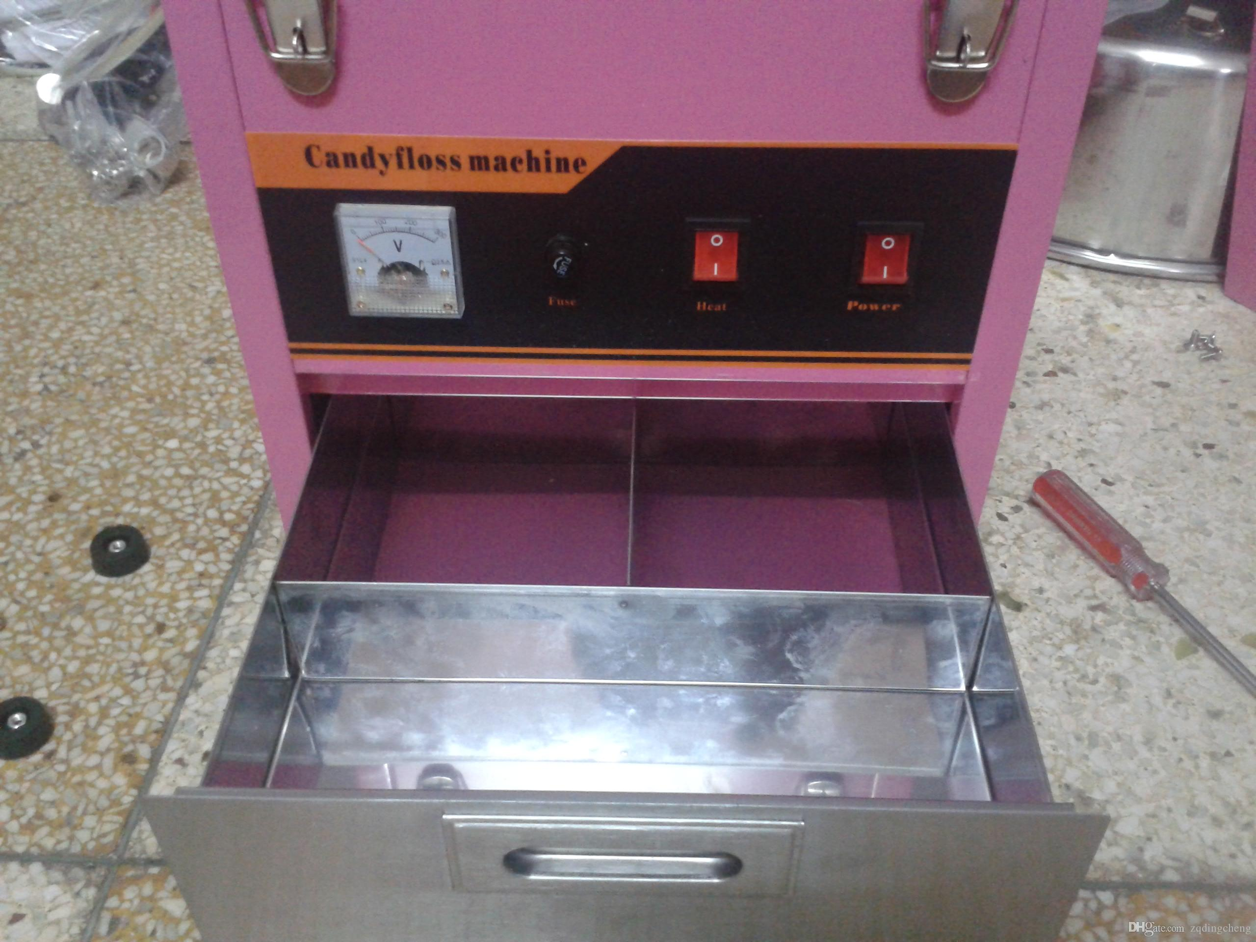 Freies verschiffen ~ 110 V 220 V kommerziellen Zuckerwatte floss maschine gute qualität