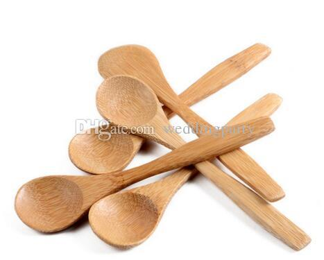 DHL Freeshipping Cuchara de madera BAMBOO SCOOP