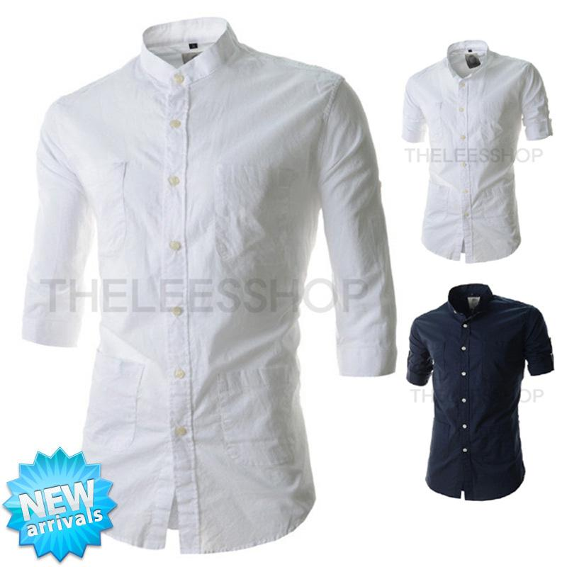 2017 Fg1509 New Design Pocket Shirt Men 2015 Summer Mens Fashion ...