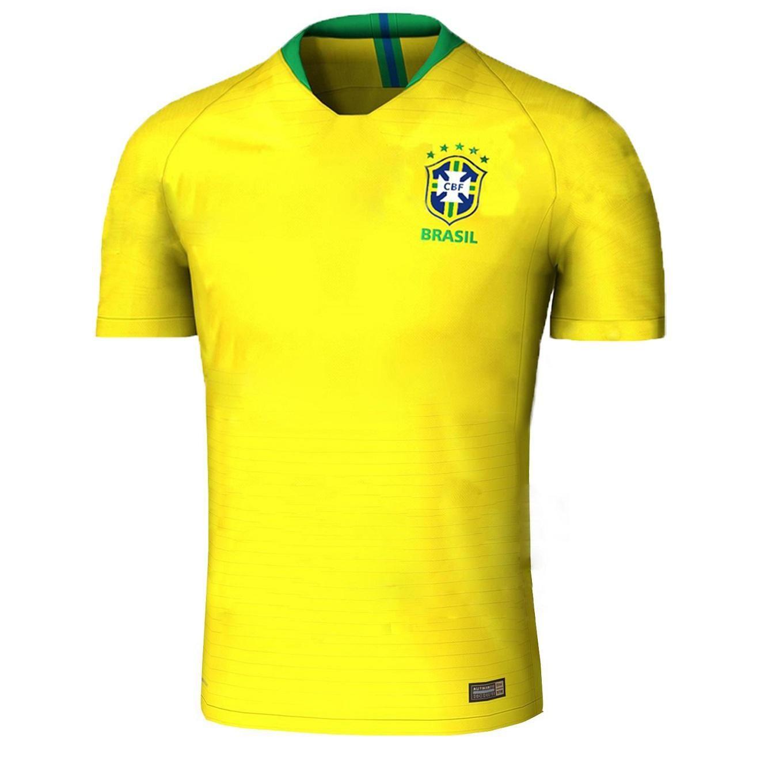 2018 world cup brazil soccer jersey neymar jr p.coutinho pele marcelo ronaldinho david luiz football
