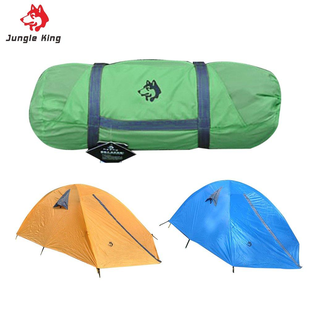 Wholesale- Glass Fiber Fiberglass Rod Camping Tent For Outdoor Travel Hiking Climbing Picnic Beach Tent Rainproof Windproof Waterproof