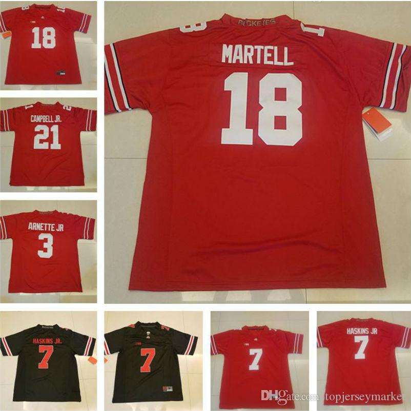 Ohio State Buckeyes College Football 18 Tate Martell 7 Dwayne ... d743dbcd9