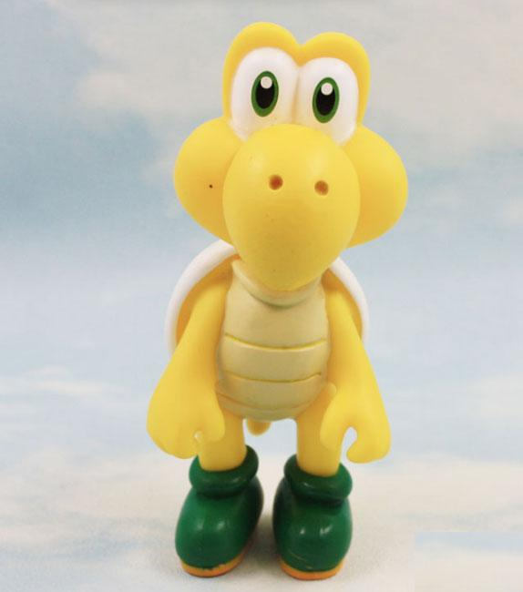 New Super Mario Turtle Koopa Troopa PVC Action Figures Toy Loose Approx 12cm/5