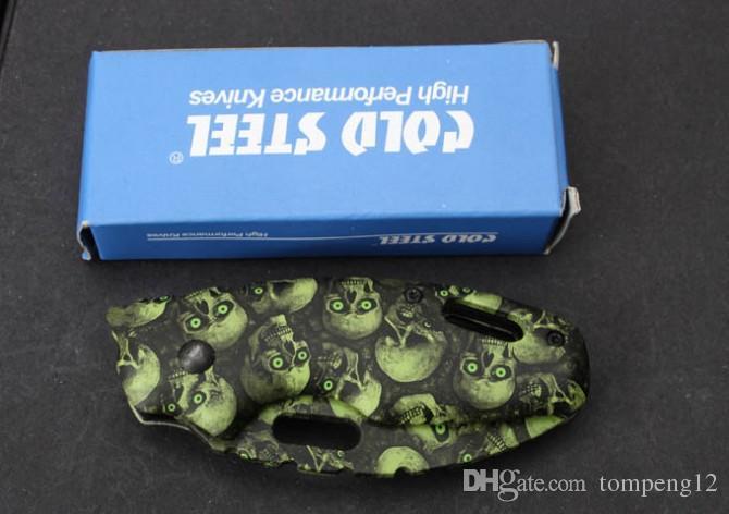 Hot sale Cold steel X37 camouflage Folding blade Knifes Gift Knife Pocket Knife Hunting Knife D2