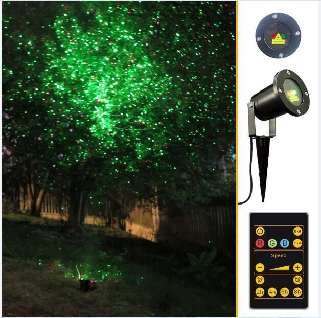 Led Christmas Wall Lights : 2018 Christmas Laser Lights Outdoor Waterproof Ip65 Garden Stage Light Led Flood Projector Wall ...