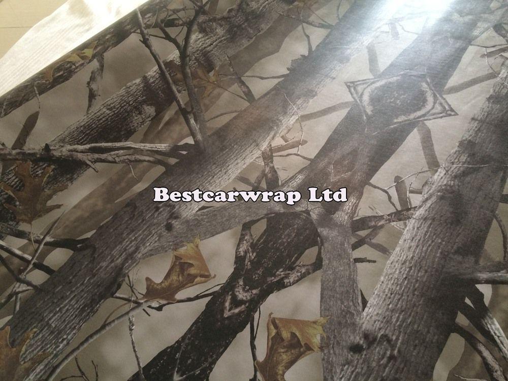 Pusu Askeri Cmao Vinil Araba Wrap Film Hava Kabarcığı Ücretsiz Yosunlu meşe Ağacı Yaprak Camo Wrap Araç Sarma Sticker boyutu 1.52x30 m / Rulo