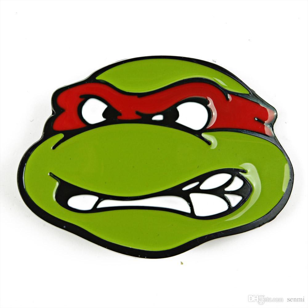 senmi teenage mutant ninja turtle head belt buckle tmnt superman rh dhgate com