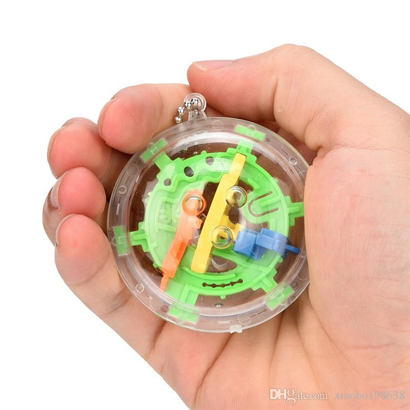 3D Magic Maze Ball 30 Level Intelligenz-Ball Rolling Ball Puzzle Game Denkaufgabe Kinder Learning Lernspielzeug Orbit Spiel