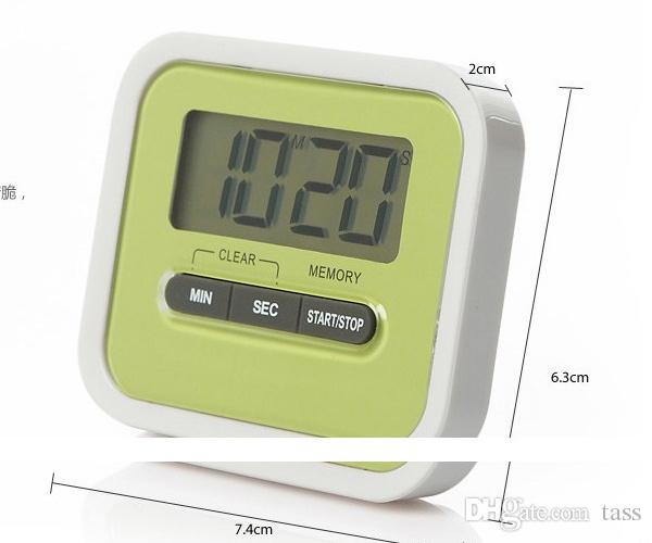 Digital Kitchen Count Down Up LCD Display Timer