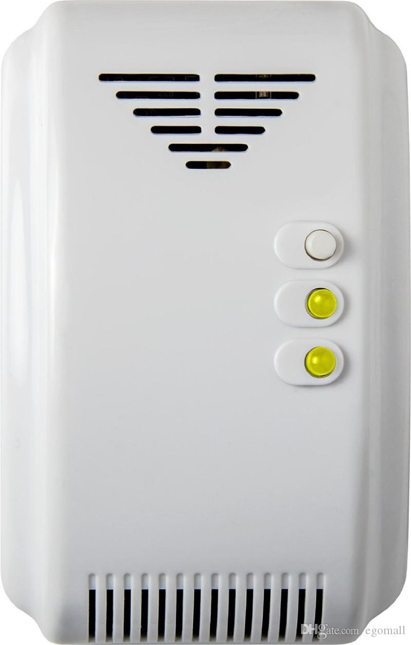 Touch Screen Keypad LCD display WIFI + GSM GPRS SMS OLED Home House Security Alarm System APP Control + Wireless Gas Sensors