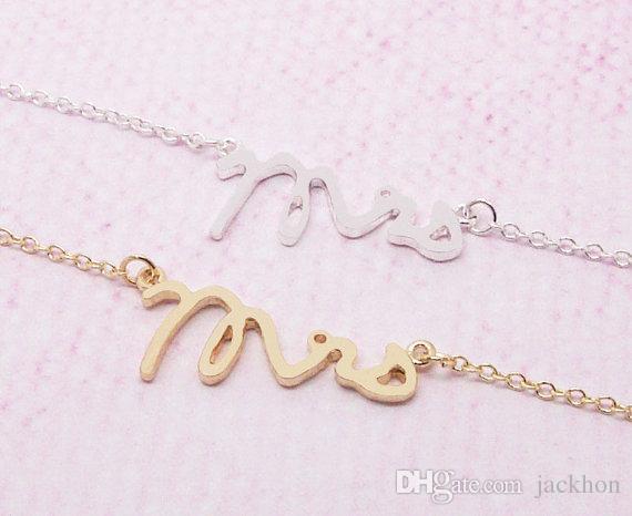 30 шт.-B030 золото серебро простой лакомство Миссис браслет маленький штамп слово браслет крошечные любовь алфавит буквы браслеты