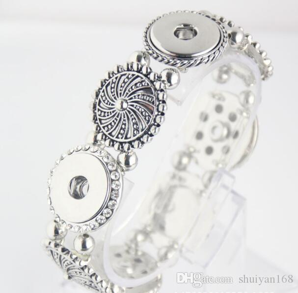Мода Имбирь оснастка Боттон ювелирных изделий DIY шарм Серебряного браслет Fit Нус Кусок мгновенного сплав Кнопка для женщин Горячих продаж