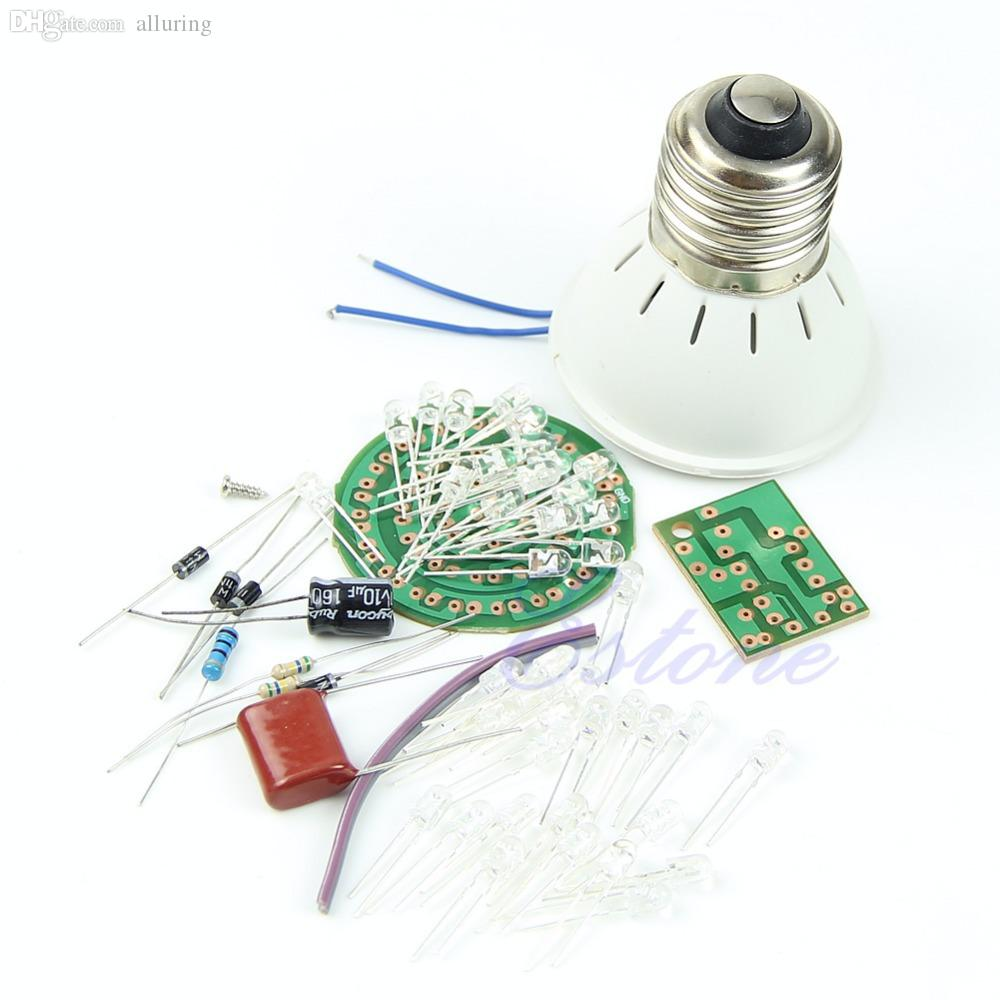 Good 38 Leds Energy-saving Lamps Suite Without Led Diy Kits Active Components