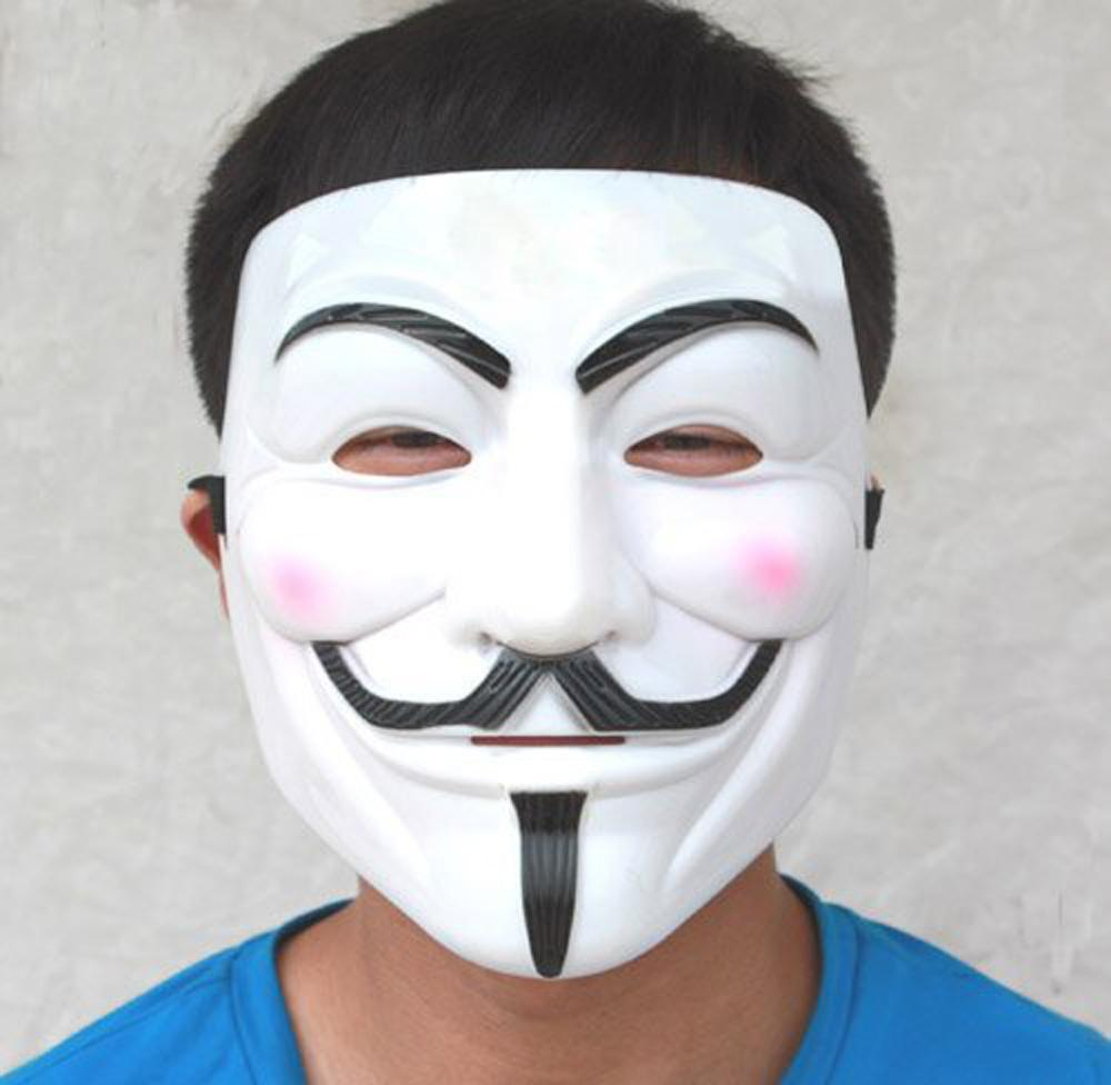 Szs Hot Party Masks Anonymous V For Vendetta Guy Fawkes Fancy ...