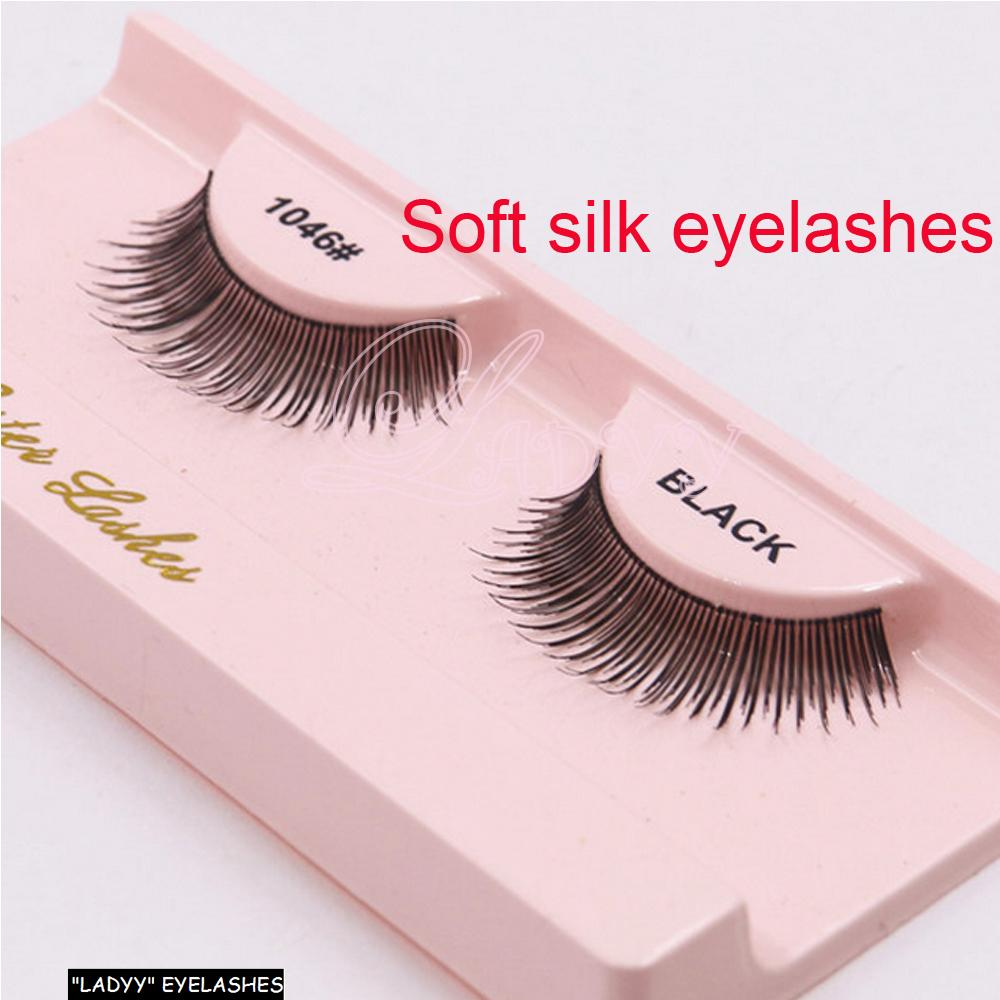 Pure Handmade Natural Long Makeup False Eyelashes Soft Fake Eye Lash Beauty Tool Extension Individual Eye LashesSoft Fake Eye Lashes