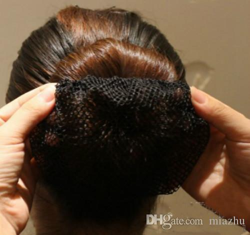 7 Cores Misturadas Mulheres Ballet Dance Patinação Rendas Bun Capa Elastic Hair Cabelo Net Moda Accorrories Hiar Para As Mulheres menina