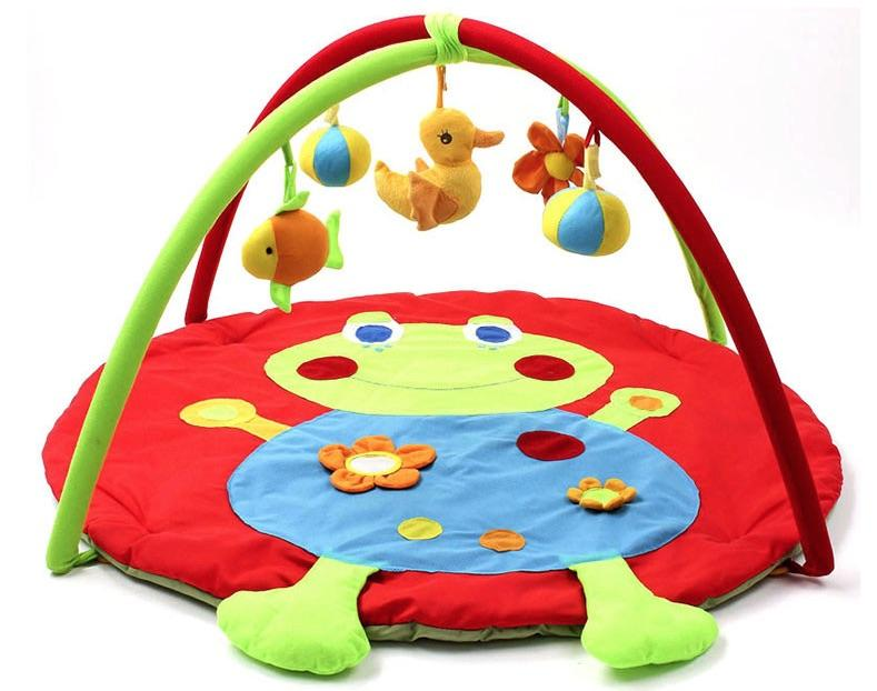 rainforest infant kick gym floor butterfly floors bedding grasp playmate product crawl toys baby activity musical