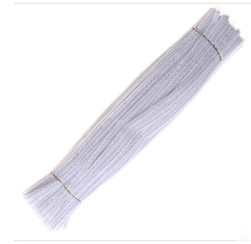 bianco Chenille Craft steli Pipe Cleaners 12