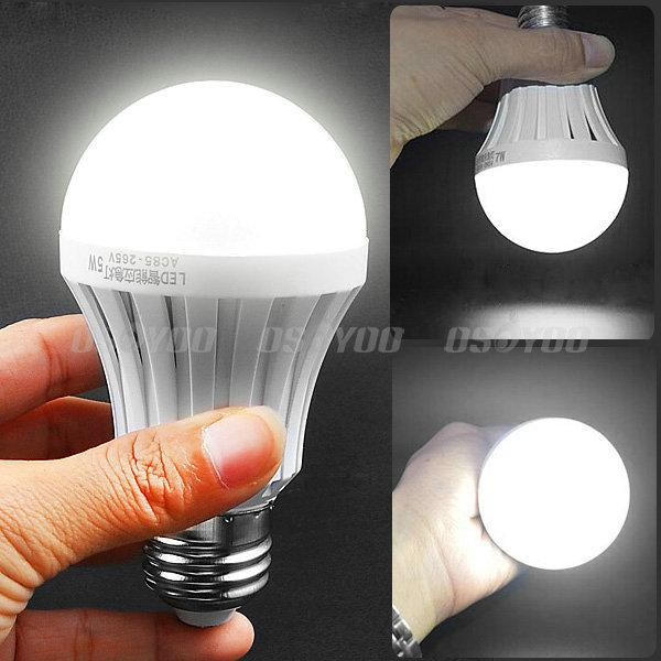 Led Smart Bulb 5w 7w Emergency Light Charge Batteries Lighting E27 Lamp For Home Indoor Free Express Gu10 Ceramic