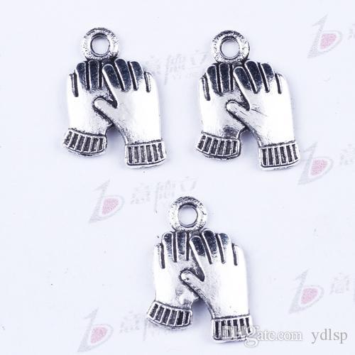 Nova moda de prata retro Único pendurado palma Pingente de Fabricação DIY jóias pingente fit Colar ou Pulseiras charme 1000 pçs / lote 2987y