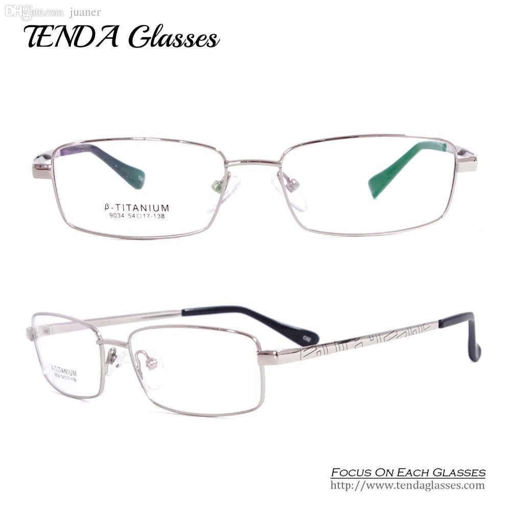 Wholesale-Titanium Flexible Eyeglass Frames Myopia Glasses Men ...