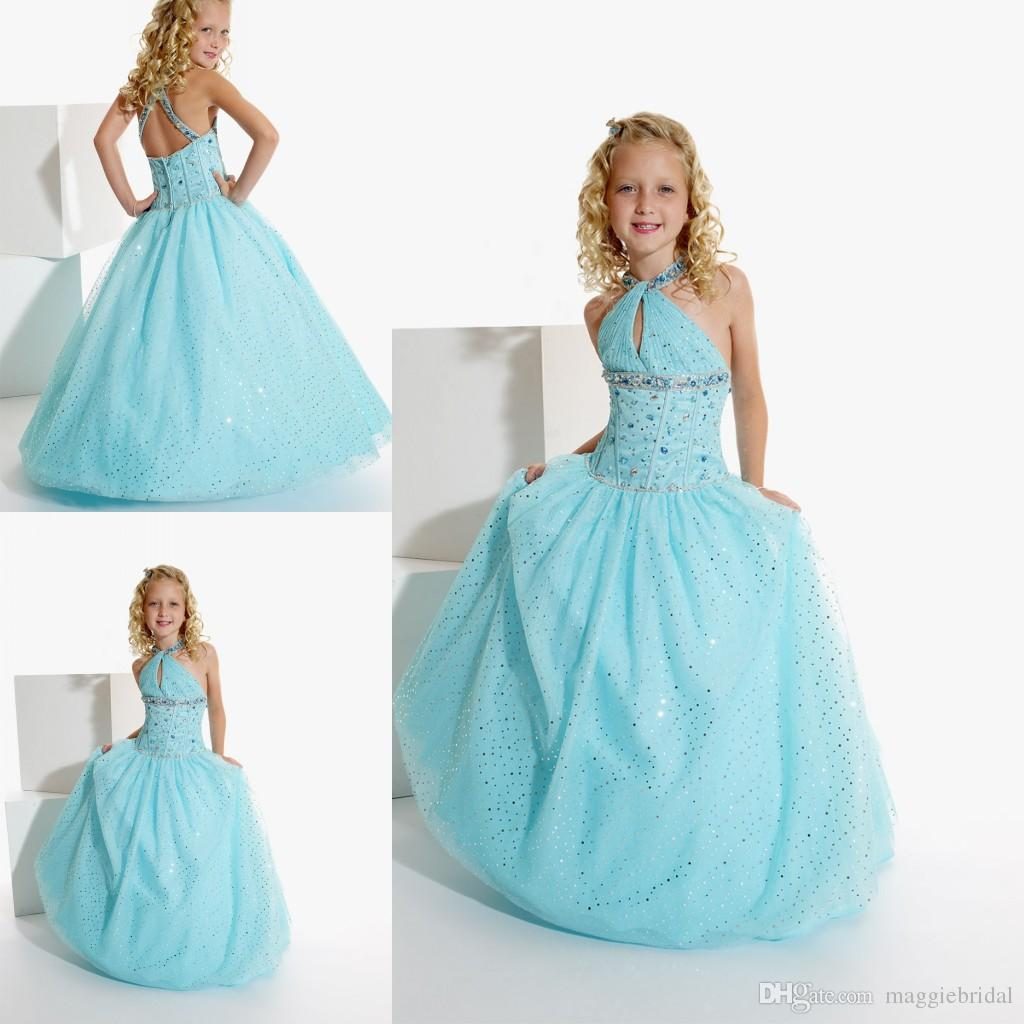 Ball gowns children wedding dress for flower girls ball for Wedding dresses for child
