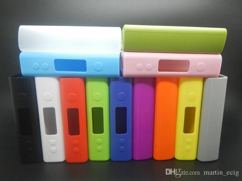 Fuchai 200w Silicone Case Silicon Cases Rubber Colorful Sleeve Protective Cover Skin For Sigelei Fuchai 200Watt mod TC Vape Box mod