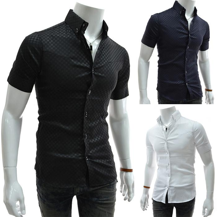 Discount Man Spring 2014 Men'S Short Sleeve Shirts Camisas Casual ...