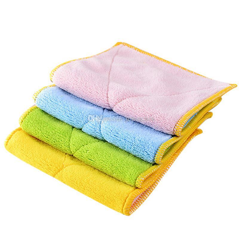 ستوكات غسل منشفة ماجيك تنظيف المطبخ مسح الخرق بالجملة صحن القماش