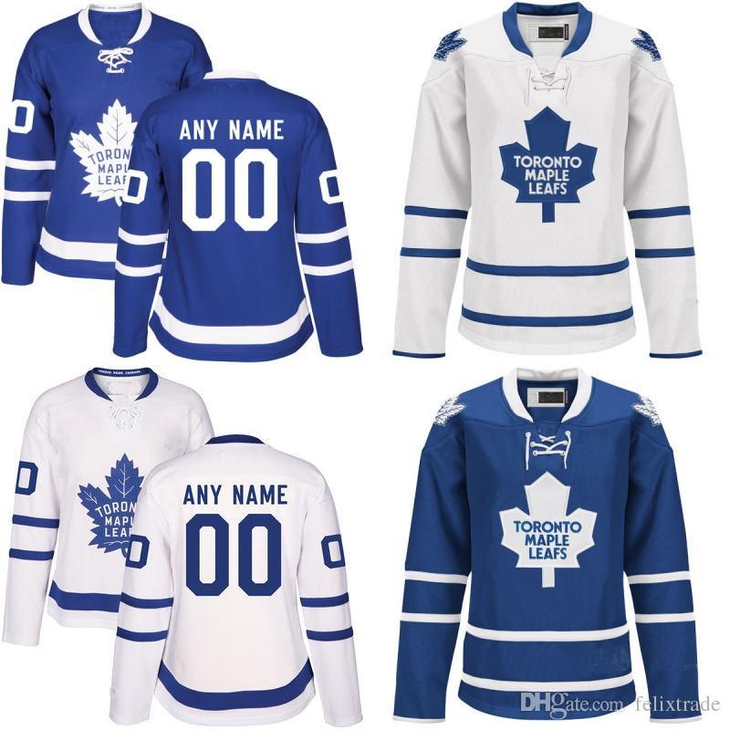on sale 39d3f 77e2c Womens 2017 Toronto Maple Leafs Jersey 12 Patrick Marleau 15 Matt Martin 25  James van Riemsdyk 28 Connor Brown Cheap Custom Hockey Jerseys