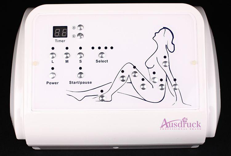 Luft-Wellen-Druck-Pressotherapie-Lymphdrainage-Detox-Fett-Abbau-Cellulite, die Gewichtverlust-Salonmaschine abnimmt