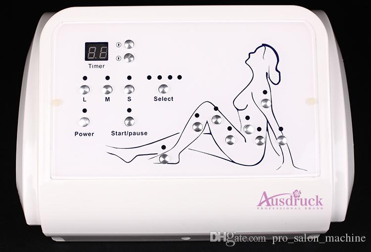 Pressão de Onda de ar Pressoterapia Drenagem Linfática Desintoxicação Desintoxicação Remoção de Gordura Emagrecimento Celulite máquina de salão de beleza