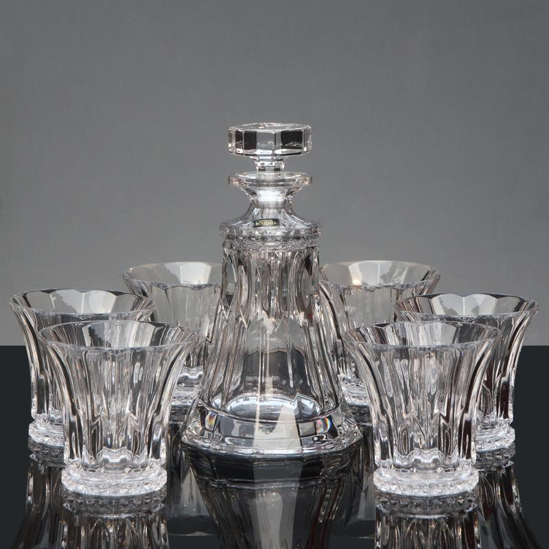 original brand new barware bar sets czech imports bohemia crystal