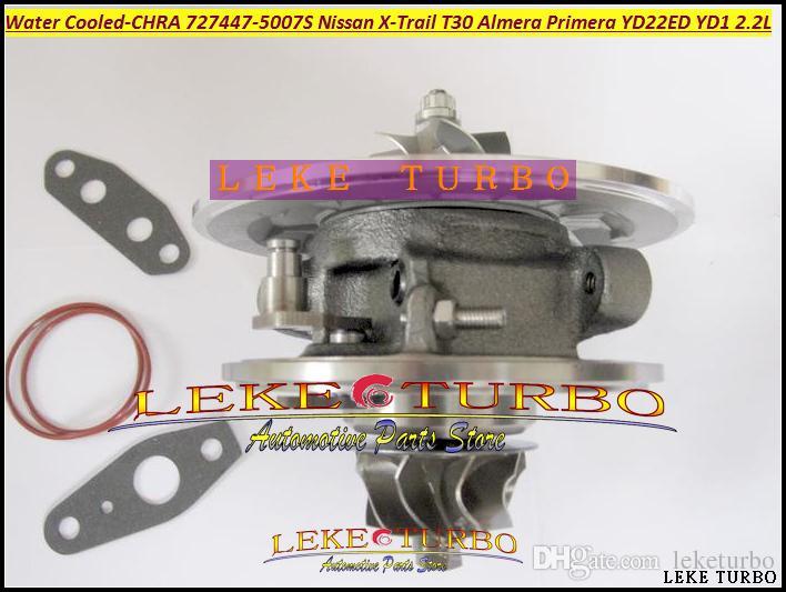 水冷ターボカートリッジCHRA GT1849 72747-0005 727447-0005 727447-0005日産X-TRAIL T30 ALMERA PRIMERA YD22EDYD22 2.2L