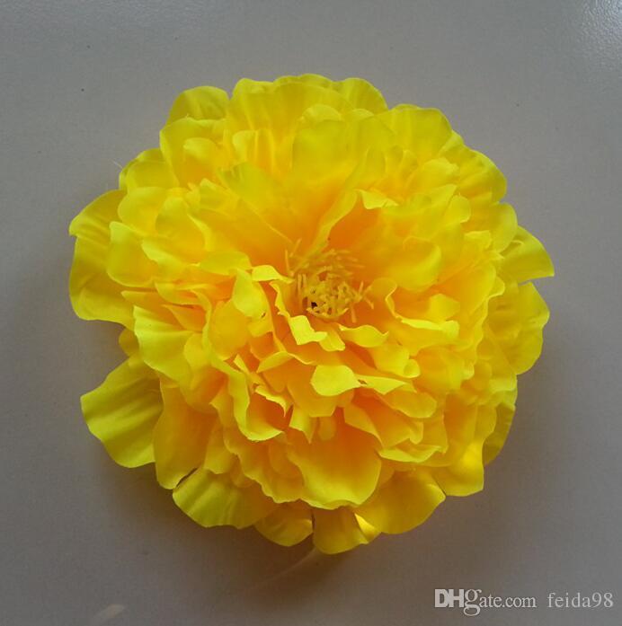 造花牡丹の花シルクフラワーダンス小道具20cm大きな牡丹送料無料