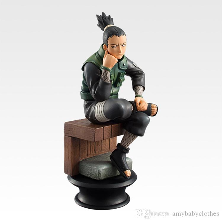Naruto Action Figure Doll High Quality Sasuke Gaara Shikamaru Kakashi Sakura Naruto Anime Toys Collection for Boys / Set